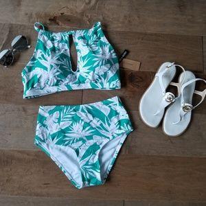 2 piece Cremieux swimsuit